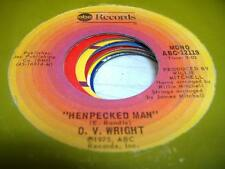 Soul 45 O.V. WRIGHT Henpecked Man on ABC