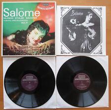SET 228/9 Strauss Salome Nilsson Stolze Wachter Solti 2xLP Decca NM/VG