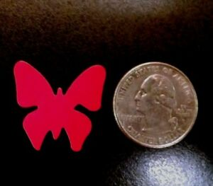 ~~~100~~~ RED BUTTERFLY STICKERS ~ TANNING BODY STICKERS