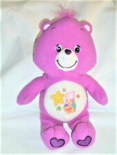 "Care Bear Surprise Bear Purple 2005 Plush Stuffed Animal Toy 12"" TCFC Jakks"