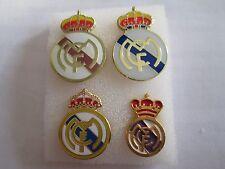 lotto 4 pins lot REAL MADRID CLUB DE FUTBOL FC club spilla football calcio