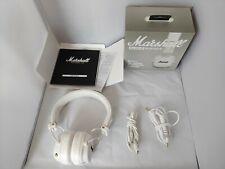 Marshall Major III Wireless Bluetooth Headphones White