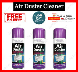 Compressed Air Duster Spray Can Clean Laptop Computer Keyboard Mobile 200ml