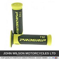 Honda CB250 CBR250 CB400 NSR250 XR250 CBF250 Fluo Yellow Handlebar Soft Grips