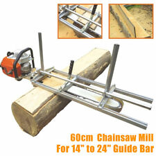 """14'' - 24"""" Chainsaw Mill Attachment Lumber Portable Cut Boards Chainsaw"""
