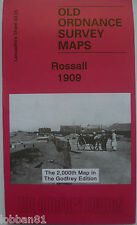 Old Ordnance Survey Map Rossall & Northern part Cleveleys Lancashire 1909 S43.05