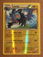Pokemon Card XY Flashfire Reverse Holo Luxray 34/106. FREE SHIPPING!