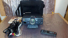 Epson PowerLite 5550c LCD Projector 22 LAMP HR. W/ Remote Control/Manuals/Cable