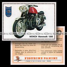 #pnsm75.140 ★ MÜNCH 1200 MAMMOUTH MAMMUT ★ Panini Super Moto 75