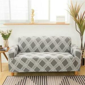 1/2/3/4 Seater Modern Style Sofa Cover Slipcover Settee Stretch Couch Protector