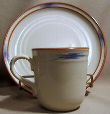 Noritake Raindance 8675 Salad Plate + Mug EXCELLENT