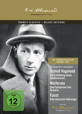 FRIEDRICH WILHELM MURNAU BOX Faust NOSFERATU Vogeloed * Deluxe Edition 3 DVD Neu