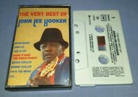 JOHN LEE HOOKER THE VERY BEST OF cassette tape album T7858