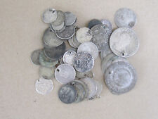A BIG LOT of Antique Mixed Silver COINS