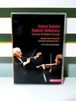 Sibelius: Violin Concerto/Schumann: Symphony No. 2 DVD VALERITY SOKOLOV