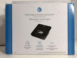 AT&T Digital Answering System 60 Min Recording - Black - NIB - 1120C