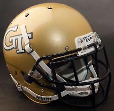 *CUSTOM* GEORGIA TECH YELLOW JACKETS Schutt XP GAMEDAY Football Helmet w/EGOP