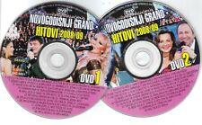 Novogodisnji Grand Hitovi 2 DVD 2008 2009 Best Lepa Brena Aca Lukas Indira Mile