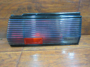 Conquest - Chrysler, Dodge, Plymouth, Mitsubishi, 1984 - 1989, Left Tail Light