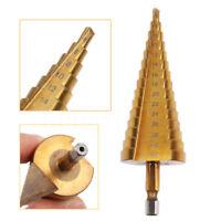 Foret Fraise a etage Conique acier HSS Pour percage perceuse Visseuse 4 - 32 mm