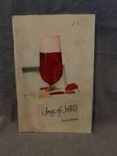 Vintage 4th Edition 1st Printing JOYS OF JELLO Cook Book Paperback