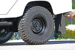 """Land Rover Steel road Wheel 8""""x16"""" wide rim in Land Rover Style (Rim Only)"""