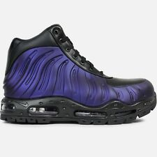 Mens Nike AIR MAX FOAMDOME Boots -Black/Purp -Foamposite -843749 500 -Sz 13 -New
