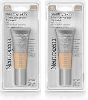 Lot of 2 Neutrogena Healthy Skin 3-in-1 Concealer for Eyes SPF 20 - Buff 09