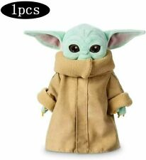 Baby Yoda Plush Toy Star Wars Mandalorian Force Awakens Master Child Soft Doll