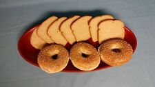 Pressed Bamboo / Lacquer ware/ Bread Tray - Large Size