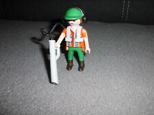 playmobil gärtner gartenarbeit laubbläser sauger werkzeug