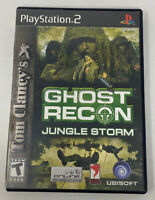Tom Clancy's Ghost Recon: Jungle Storm (Sony PlayStation 2, 2004) Complete PS2