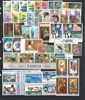 Samoa 50 Different Stamps in Glassine Bag Mostly Mint