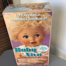 1987#RARE MATTEL BABY HEATHER BABY VIVA # NIB  EUROPEAN BOX