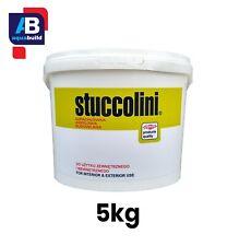 5kg STUCCOLINI Wall Ceiling Plaster Decorating All Purpose Crack Repair Filler