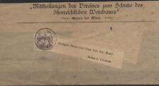 Austria 1867 Giornali 1k violetto grigio su fascetta di giornale (N 55)