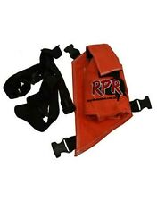 RPR GPS/UHF HOLSTER SINGLE ORANGE HOUND PIG HUNTING **FREE SHIPPING AUST WIDE**