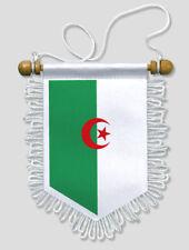 FANION VOITURE ALGERIE - 13 X 15 CM - BLASON ECUSSON FOOTBALL
