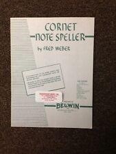 Cornet Notespeller By Fred Weber (Paperback)