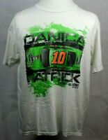 Danica Patrick #10 Go Daddy Chase Authentics Nascar T Shirt XL Extra Large