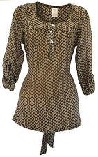 Debenhams Women's Polyester Hip Length Casual Tops & Shirts