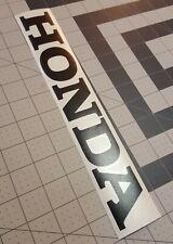"Honda Black Decal~Honda Logo Sticker~Honda ATV, DIRT BIKE, ATC~1""x6"""