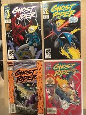 Marvel GHOST RIDER comic book lot of 6. VF+