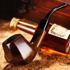 Creative Ebony Smoke pipe W/ Gift bag High Quality Wooden Tobacco Pipe New Gift