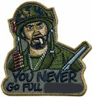 "Внешний вид - You Never Go Full Tropic Thunder Inspired Patch [""Velcro Brand"" Fastener]"