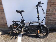 "Nakto Folding E-Bike City Folder 36V Electric Bike 16"" Bicycle White Colour"