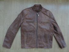 "Mens Ashwood S 44"" stylish brown leather jacket r6-12"