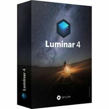 Luminar v4 2020 For PC Windows Photo Editor Activation Lifetime License Software