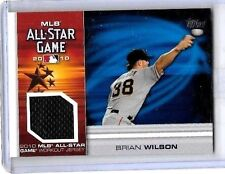 BRIAN WILSON 2010 TOPPS MLB ALL-STAR WORKOUT JERSEY