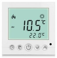 Digital Thermostat Raumthermostat Fußbodenheizung Wandheizung LED weiß      #a31
